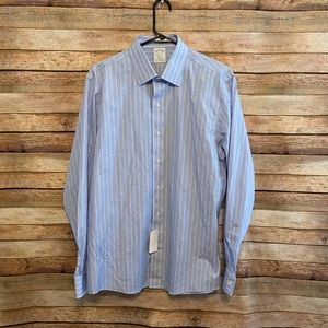 NWT Brooks Brothers Milano Non Iron Shirt 16.5
